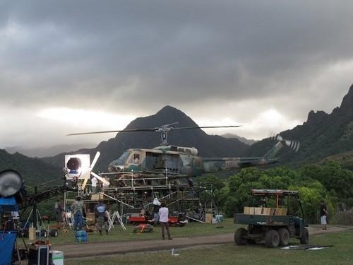 Hawaii Five 0  2x10 Kilua BTS Photos
