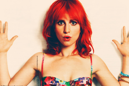 Paramore wallpaper probably containing attractiveness and a portrait called Hayley