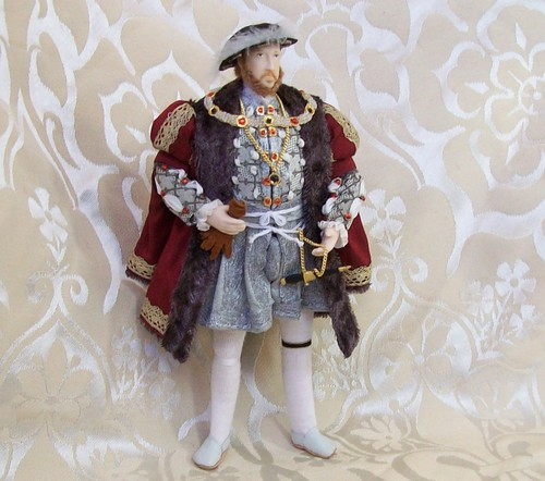 Henry VIII Doll - 12th scale