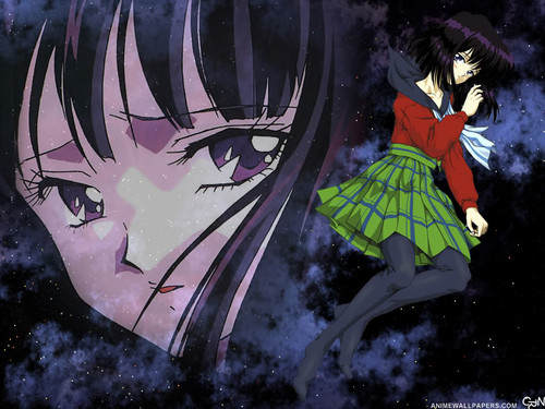 Bakugan and Sailor Moon! kertas dinding entitled Hotaru Tomoe/Sailor Saturn