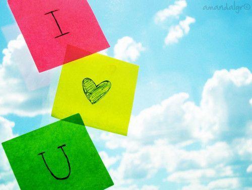 I tình yêu bạn <3