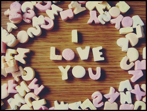 Love wallpaper called I love you