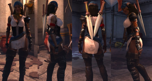 Isabela's post-romance look - dragon-age-origins Photo
