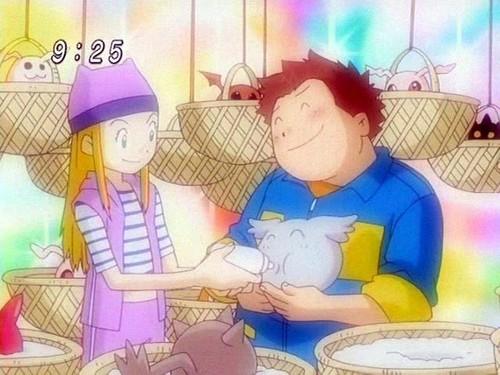 Izumi and Junpei_happy families