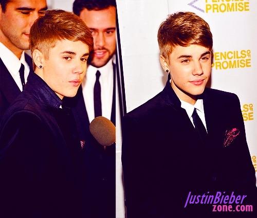 """JB's """"mo"""" and new hairdo...."""