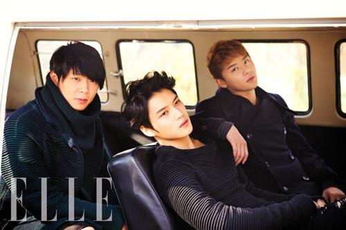 JYJ [New ELLE Photo}