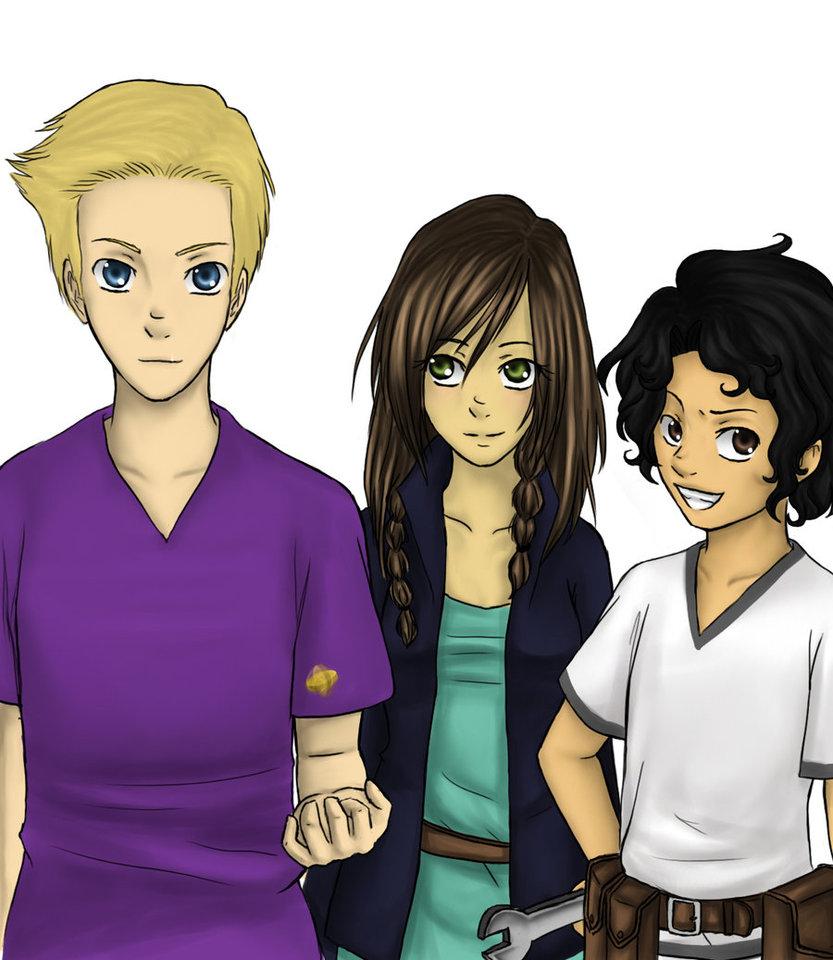 Jason, Piper, and Leo