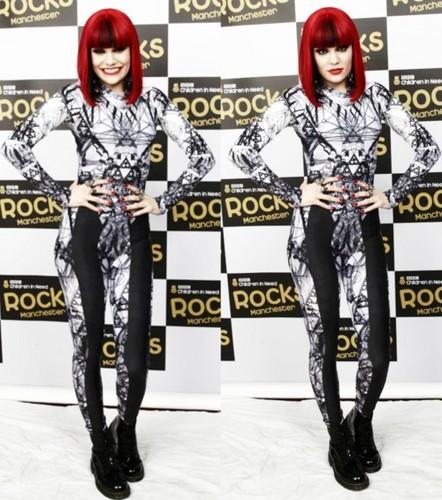 Jessie J @ Children in Needs Rock Benefit