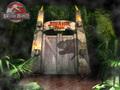 Jurassic Park karatasi la kupamba ukuta