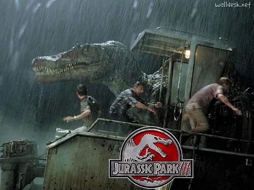 Jurassic Park kertas dinding called Jurassic Park kertas dinding