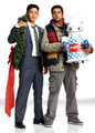 Kal Penn & John Cho Photoshoot for the November 2011 Issue of KoreAm Magazine - harold-and-kumar photo