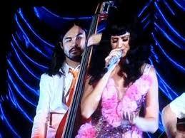 Katy Performing (California Dreams Tour)