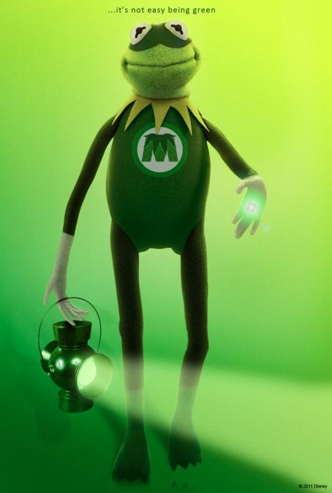 Kermit - Green Lantern Parody
