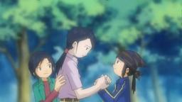 Kouji with Mom Tomoko