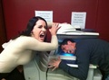 Krish &amp; Paget! - paget-brewster photo