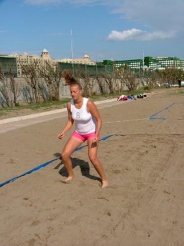 Kvitova 바닷가, 비치