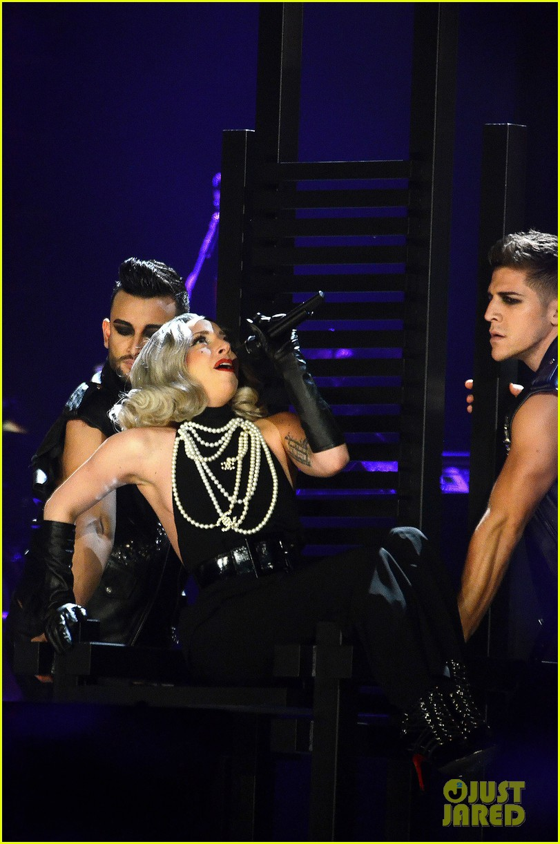 Lady Gaga concert on Thursday (November 17) at M.E.N. Arena in Manchester, England