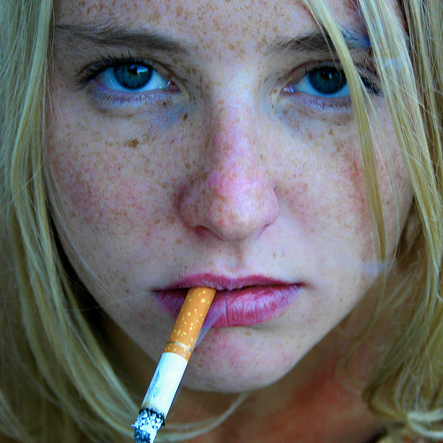 Lissie with Cigarette