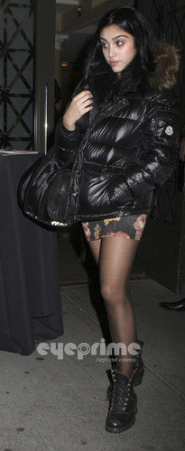 Lourdes Ciccone Leon wallpaper possibly with a hip boot called Lourdes Leon spotted out and about in New York, Nov 11