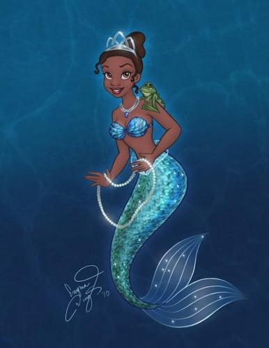 Mermaid Tiana