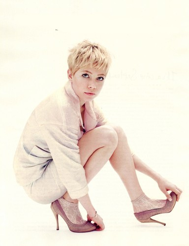 "Michelle Williams - ""ELLE"" UK/December - (2011)"