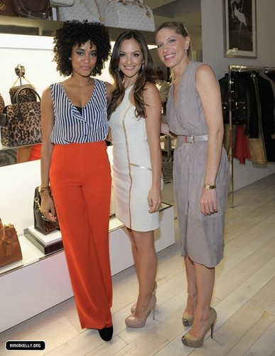 Minka Kelly - Michael Kors Celebrates The Opening Of New Robertson Boutique(November 16)