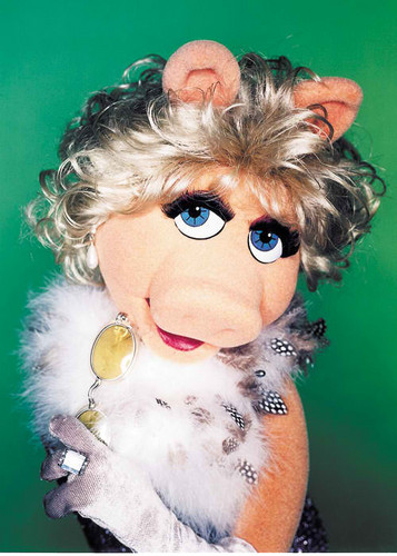The Muppets wallpaper titled Miss Piggy - Glamour