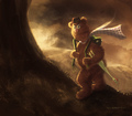 Muppets/Tolkien by Will Robertson - the-muppets fan art
