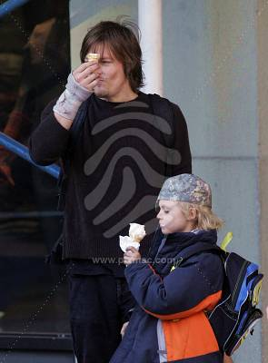 Norman Reedus Images And His Son Wallpaper Background Photos