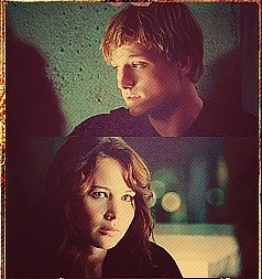 Peeta Mellark wallpaper containing a portrait entitled P&K