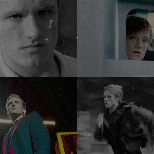 Peeta Mellark वॉलपेपर possibly containing a newspaper and ऐनीमे called Peeta<3