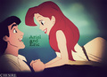 Prince/Princess Switched Roles - Ariel/Eric