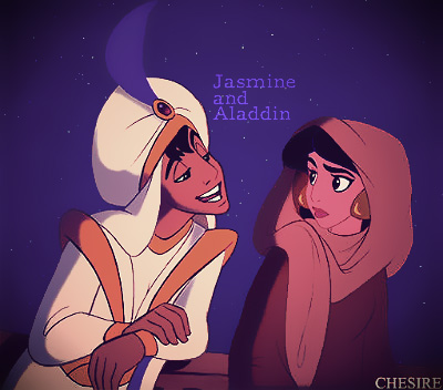 Prince/Princess Switched Roles - Jasmine/Aladdin