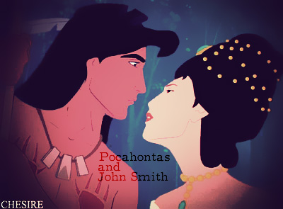 Prince/Princess Switched Roles - Pocahontas/John Smith
