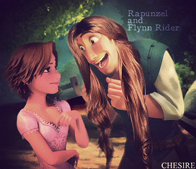 Prince/Princess Switched Roles - Rapunzel/Flynn Rider