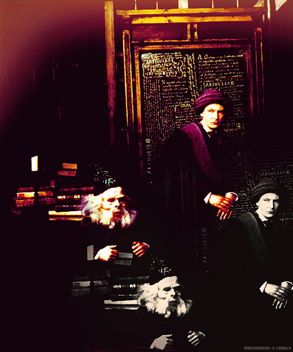 Quirrell and Flitwick