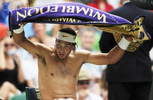 Rafa Nadal : sometimes does not fit...