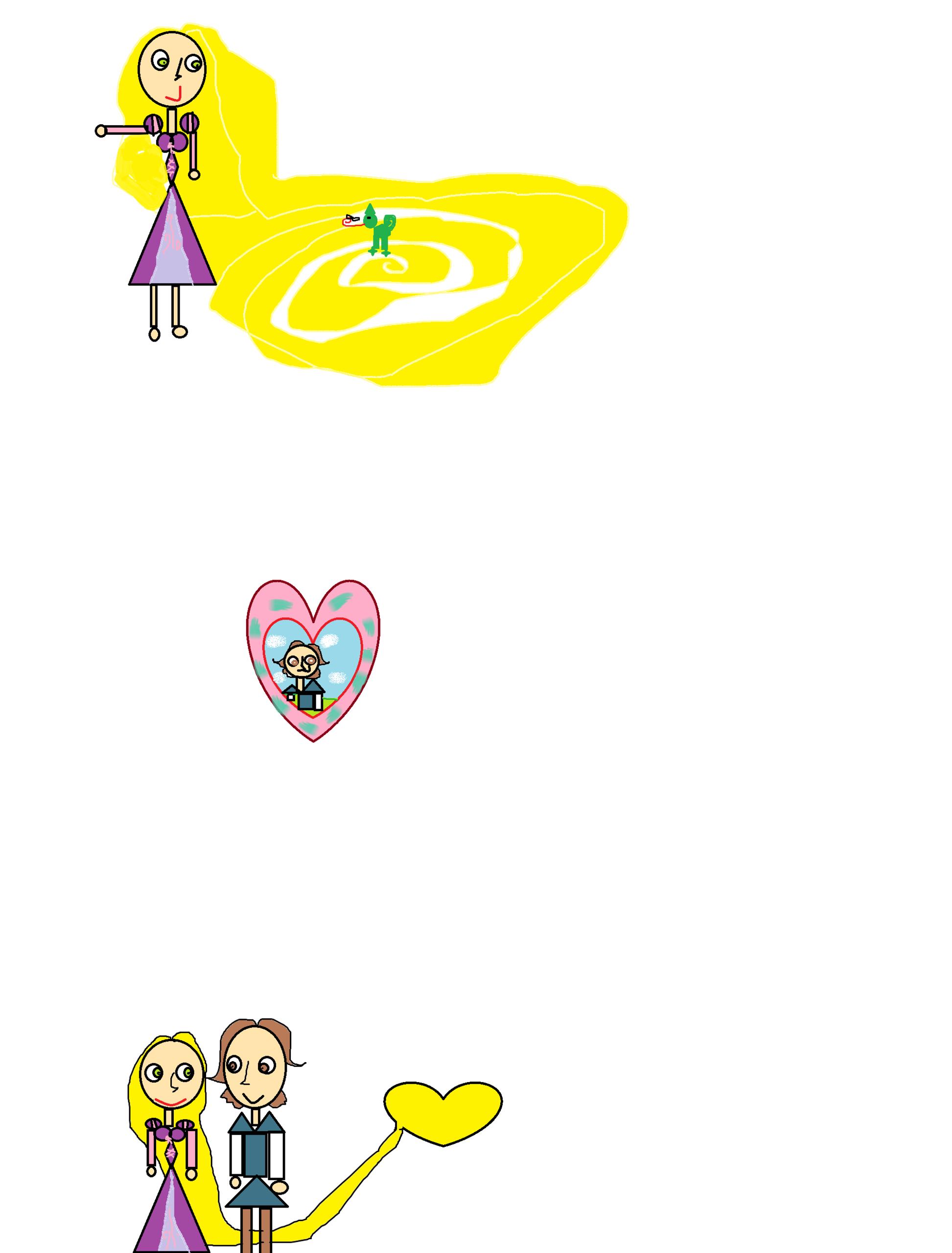 Rapunzel & Eugene Wanted of Love