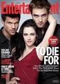 Robert, Kristen y Taylor en Entertainment Weekly - twilight-series photo
