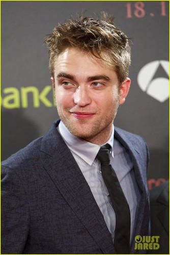 Robert Pattinson & Taylor Lautner: 'Breaking Dawn' in Spain!