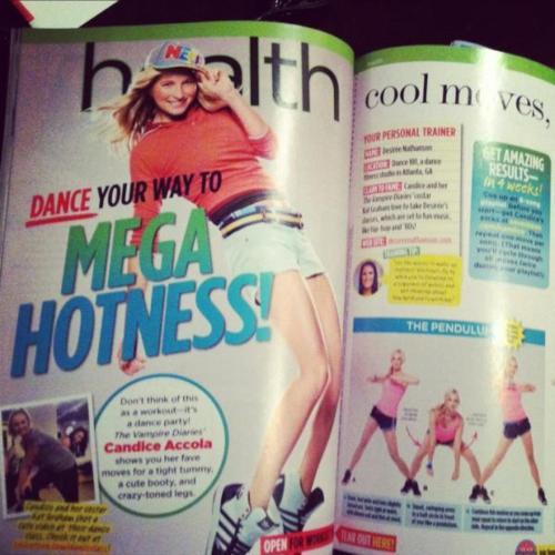 Scan Seventeen Magazine (Novembre) con Candice