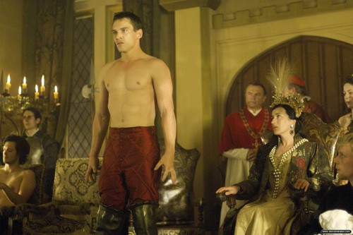 The Tudors wallpaper probably with a naco, pedaço, hunk and skin entitled Season 1 Stills