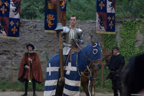 The Tudors پیپر وال containing a horse trail, a horse wrangler, and a lippizan titled Season 1 Stills