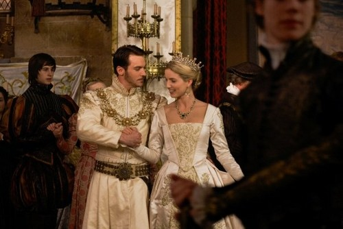 The Tudors wallpaper probably containing a kirtle, rok and a polonaise, polineis titled Season 3 Stills