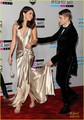 Selena Gomez &amp; Justin Bieber: American Music Awards 2011 - justin-bieber-and-selena-gomez photo