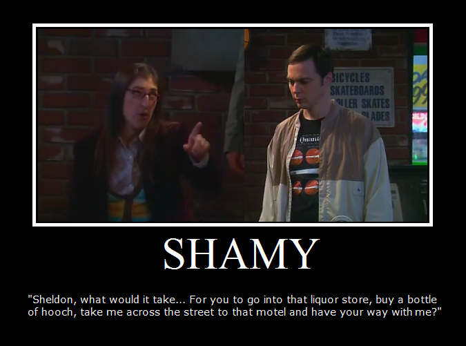 Shamy on big bang