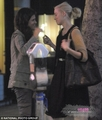 Sharing a kiss with Francesca Gregorini in LA (November 18th) - amber-heard photo