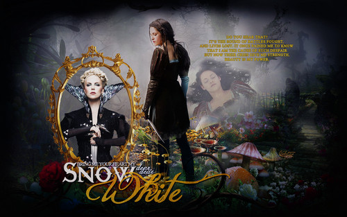 Snow White and The Huntsman Обои probably containing Аниме entitled Snow White