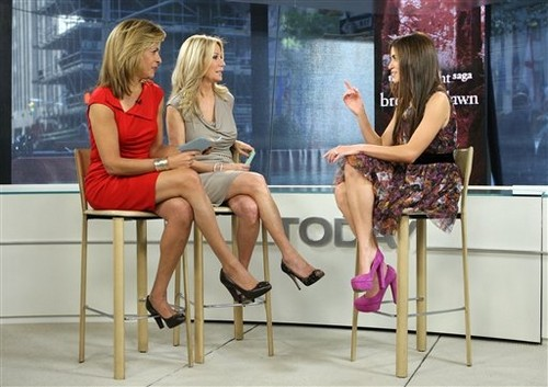 "Stills; Nikki on ""The Today Show"""