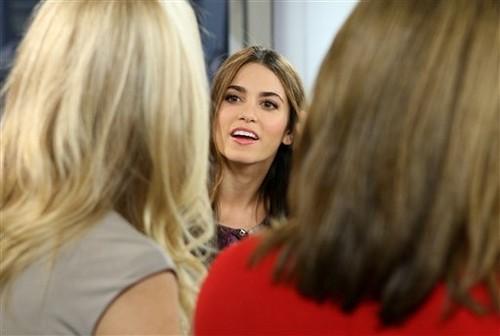 "Stills; Nikki on ""The Today Show"""